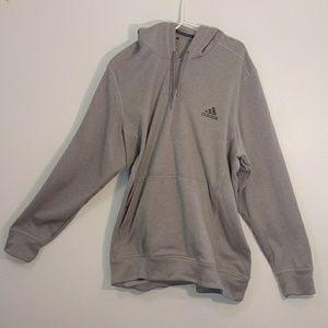 Adidas pullover hoodie grey size 2XL